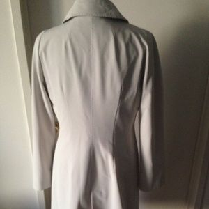 Cinzia Rocca Ivory Trench w/ Removable Undercoat